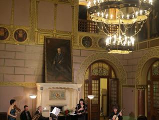 Margarita Mamsirova, Cristina Anghelescu, Viniciu Moroianu și Costin Soare, în concert, în deschider