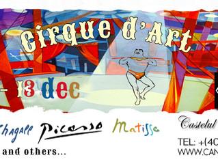 Circul vine la Castel! Circa 90 de litografii dedicate circului, realizate de Chagall, Matisse, Pica