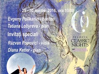 Muzica marelui compozitor George Enescu, pe 29 și 30 aprilie, la Castelul Cantacuzino din Bușteni