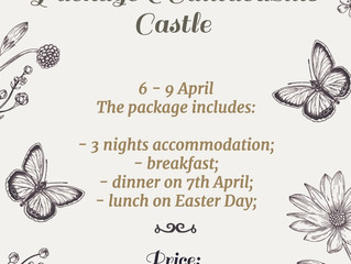 Un Paște Fericit la Castelul Cantacuzino.