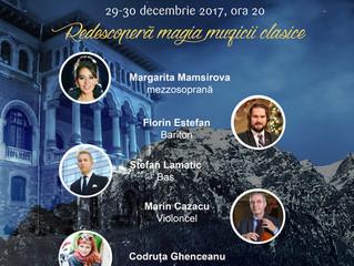 Trăiește magia Sărbătorilor de iarnă la Castelul Cantacuzino, cu un concert unic Prahova Classic Nig