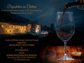 "Aroma Franței, pe 28 ianuarie, la Castelul Cantacuzino. Vinurile ""Domaine du Landreau"", o"