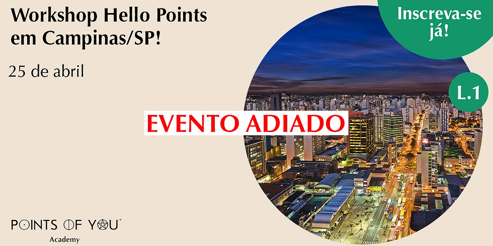 Workshop Hello Points L.1 - Campinas/SP