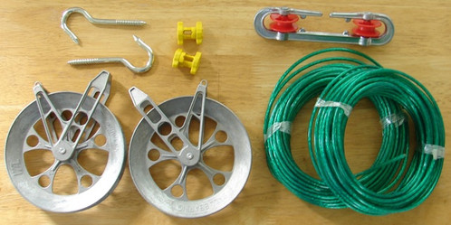 Pulley Clothesline Kit 6 Quot With Metal Line The