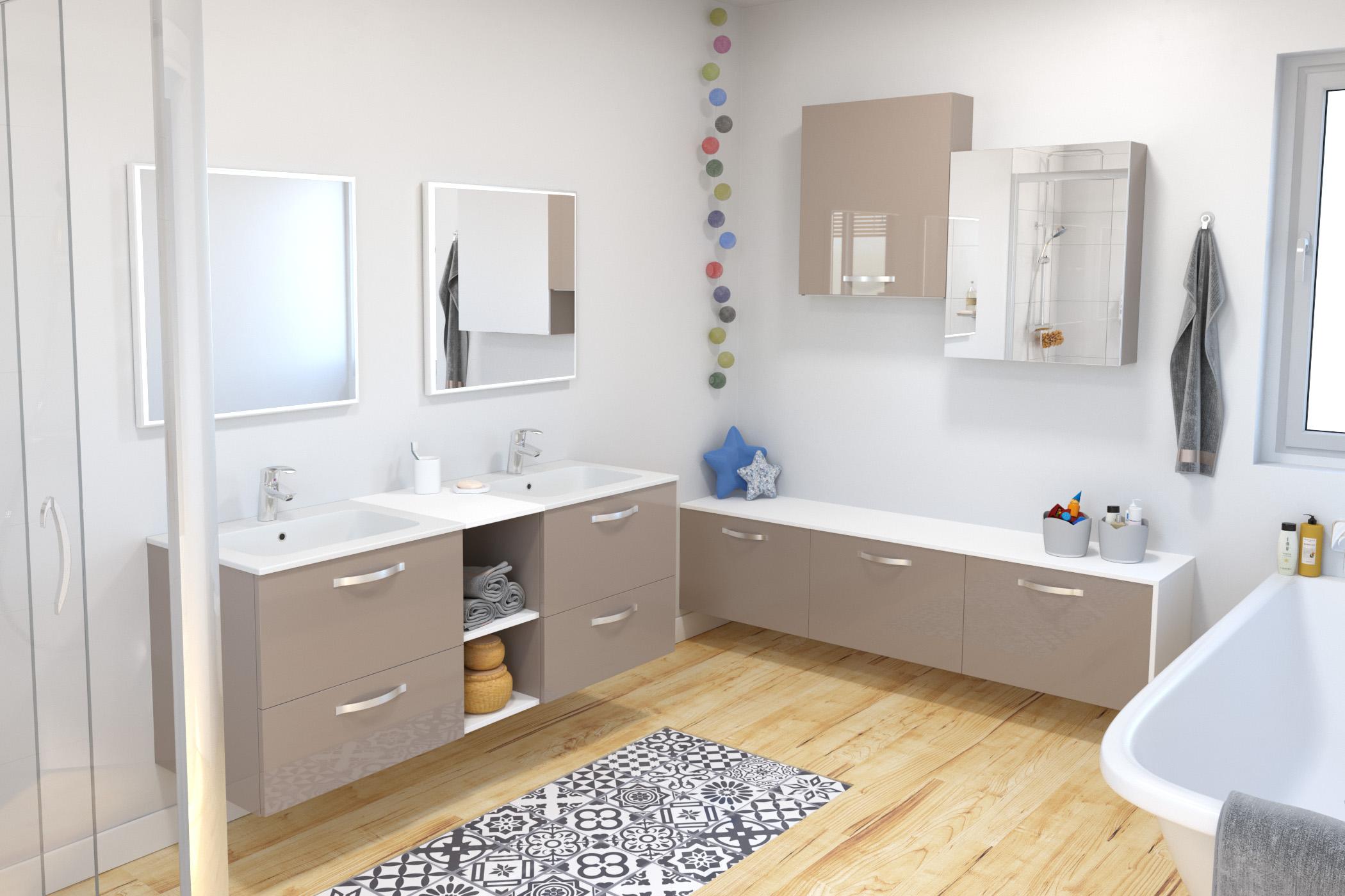Salle de bains Keria_Moka
