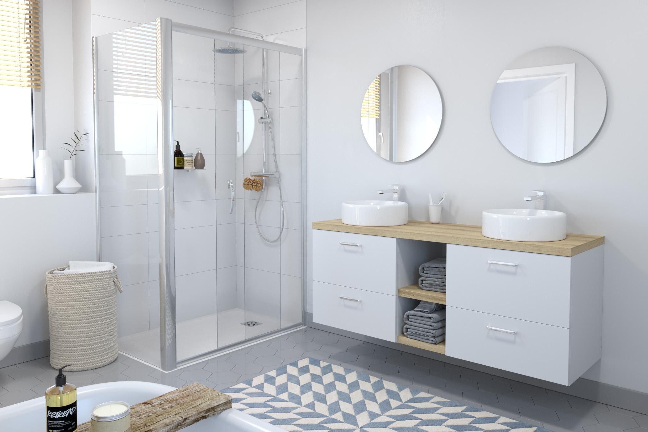 Salle de bains Ginko_Blanc