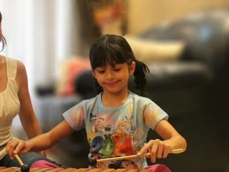 Musicalização e criatividade para as crianças!