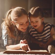 Devocional com nossos filhos com Melina Pockrandt