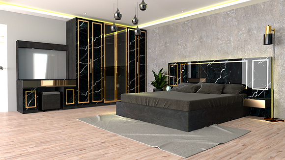 Jessica Bedroom Set