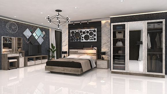 Grandio Bedroom Set