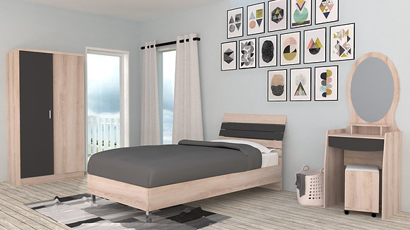 Rainbow Bedroom Set