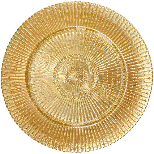 Gold Classic Charger Plate