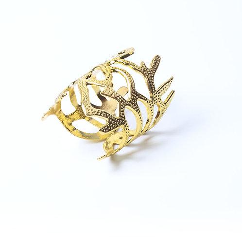 Gold Stix Napkin Ring