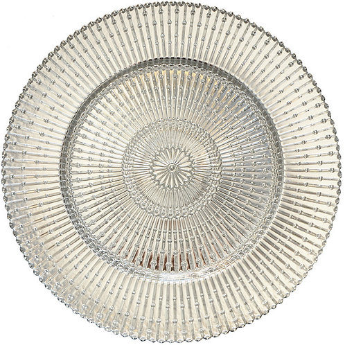 Silver Classic Charger Plate