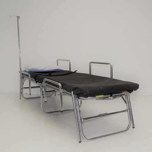 Westcot Functional Needs Cot w/Safety Rails and IV Pole