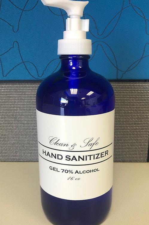 GEL Hand Sanitizer 16 oz - 70% USP Grade Alcohol