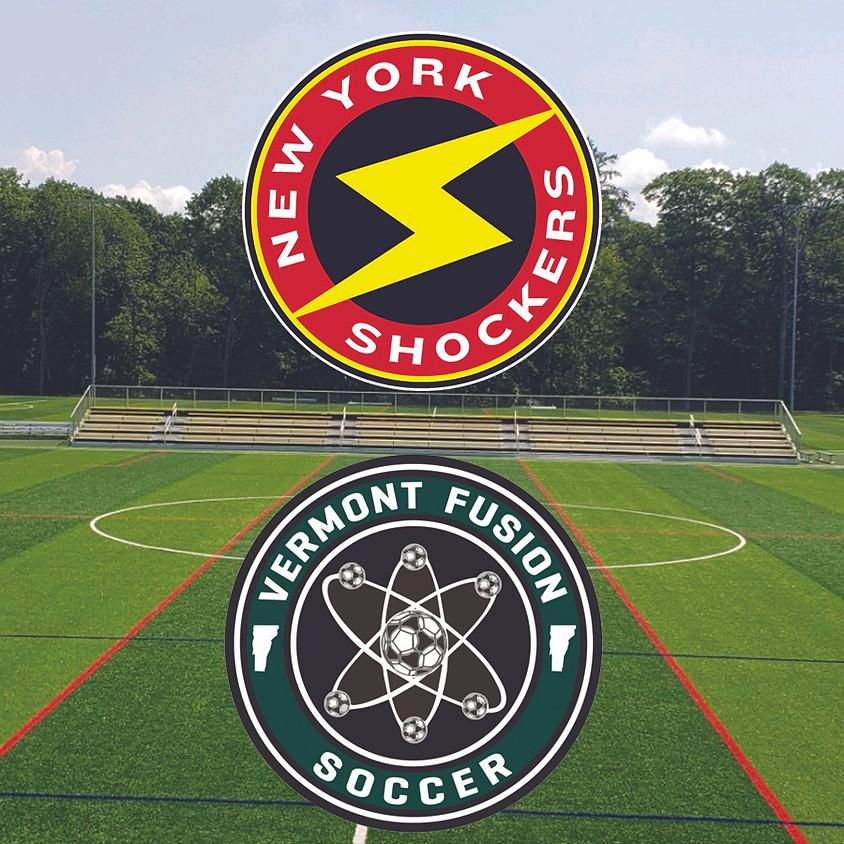New York Shocker Women VS. Vermont Fusion