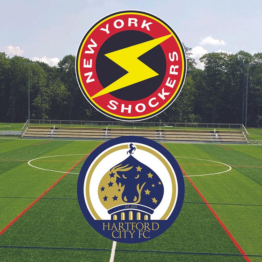 New York Shocker Men VS. Hartford City FC