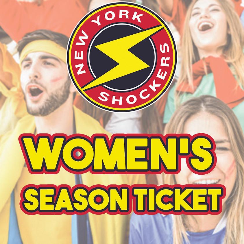 Women's New York Shockers Season Ticket