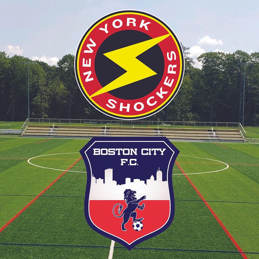 New York Shocker Men VS. Boston City FC