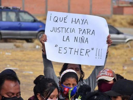 ¿Quién mató a la niña Esther?