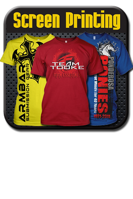 Custom Screen Printing, T-Shirt Printing Houston, TX