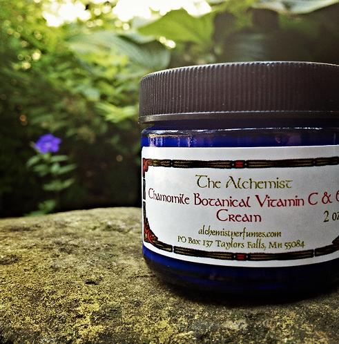 Chamomile Botanical Vitamin C & E Cream