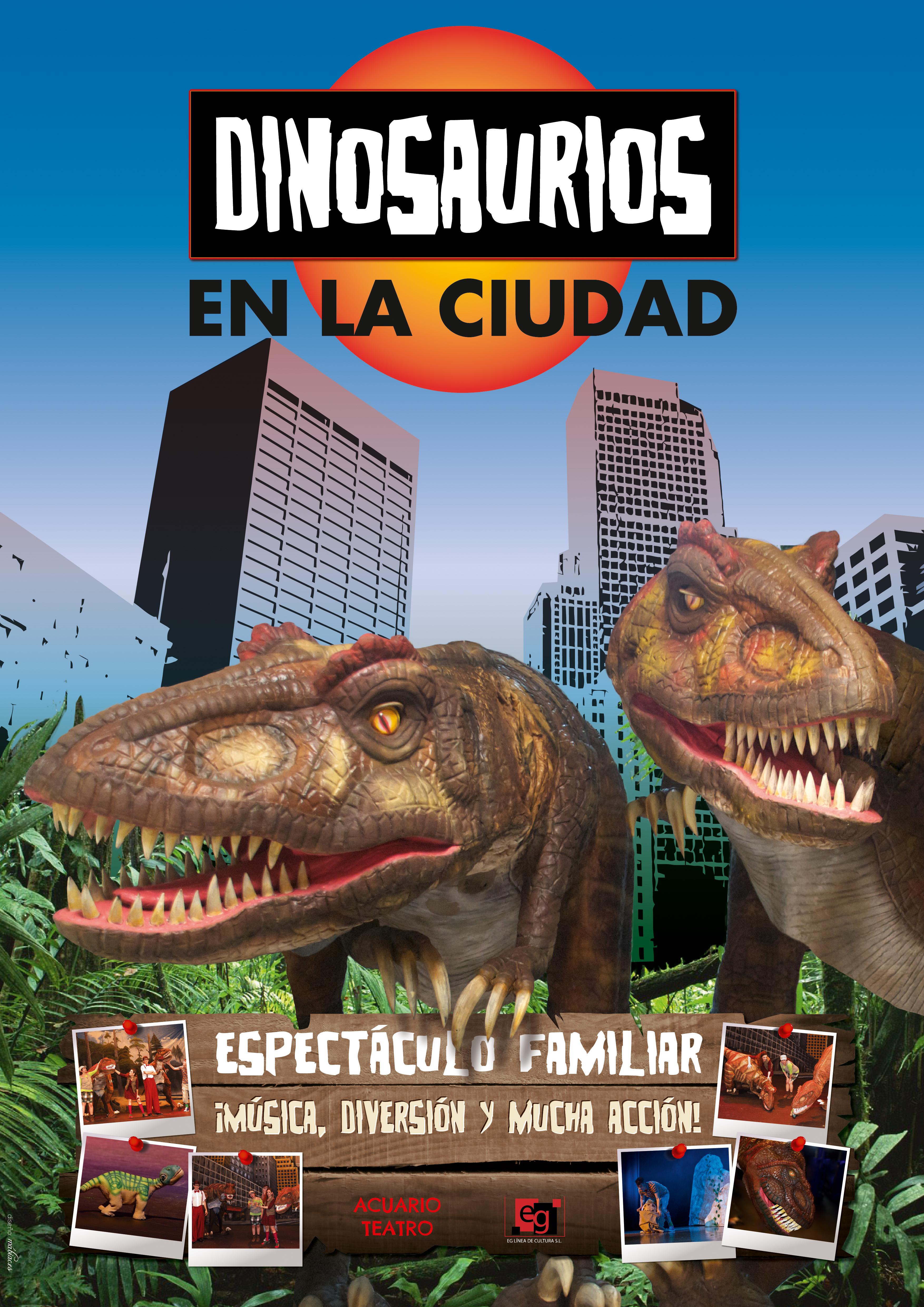 cartel dinosaurios