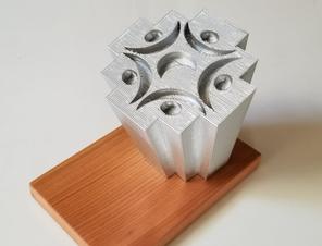 La impresión 3D llega a la Corporación Municipal del Deporte de Calama.