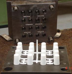 Molde de Inyección para Fabricación de Piezas Plásticas