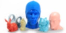 Es una variación del PLA que permite acabado cerámico y es ideal para ser pintado.