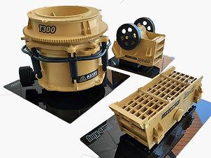 Maquetas de Maquinaria Minera