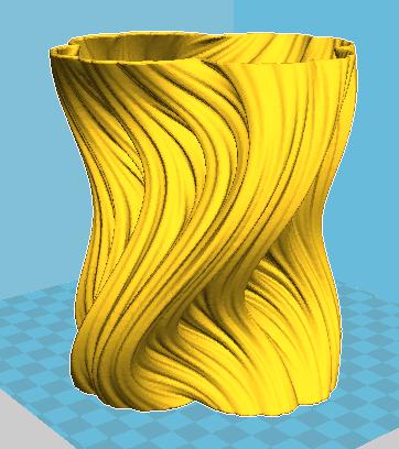 Archivo stl previo a la impresión 3D. Archivo universal para imprimir en 3D