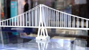 Puente Chacao - Maquetas de proyectos de Ingeniería