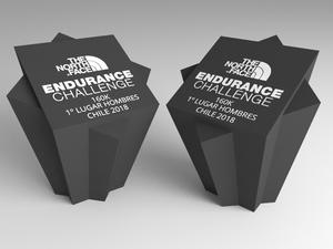 Trofeo de Endurance Challenge diseñado por 3DWorks.