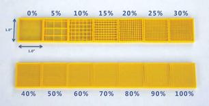 Porcentaje de Relleno en Impresión 3D