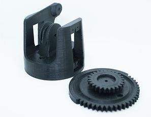 Pieza mecanica plastica impresas en 3D