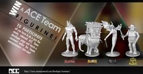 Cómo imprimir en 3D  Personajes de Video Juegos - ACE Team.