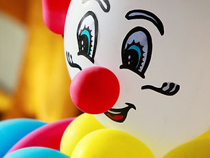 Colorful Clown Balloon
