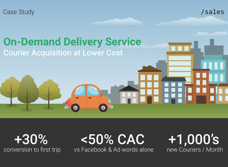 Case Study: On-Demand Delivery Service - Courier Acquisition