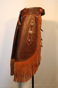 Brown Moccasin Leather