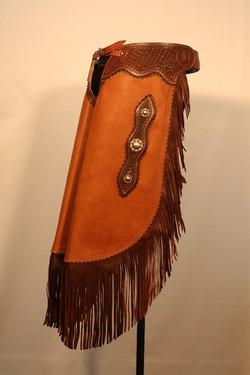 Chestnut Moccasin Leather