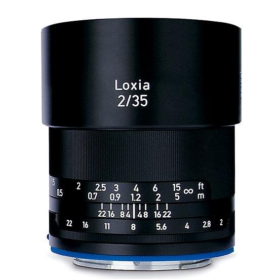 Carl Zeiss Loxia 35mm F2 / MF E Mount FullSize