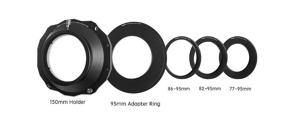 【レンタル】150mm filter holder's adapter ring set