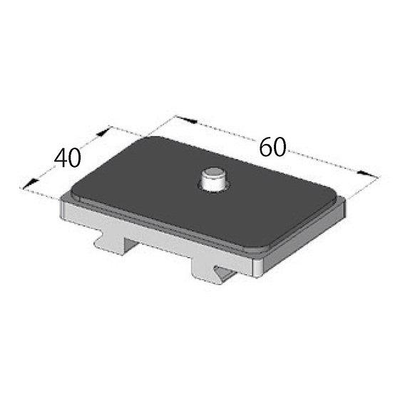 ARCA-SWISS Quick Plate Universal Short