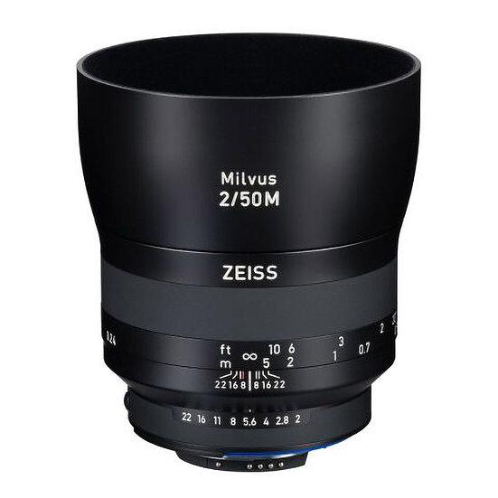 Carl Zeiss Milvus 50mm F2 / ZF.2 MF NikonF Mount