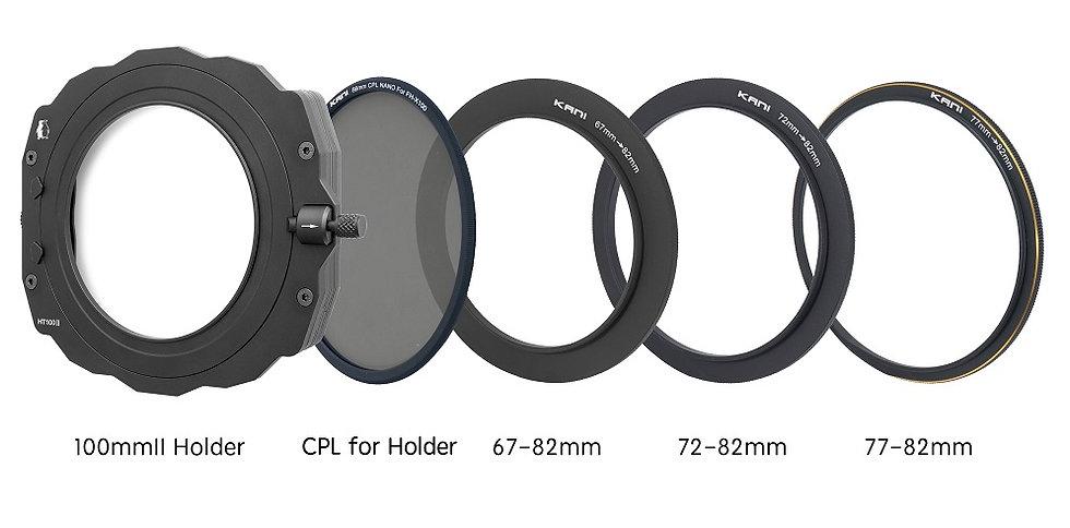 FILTER HOLDER HT2 for 100mm+CPL 86mm