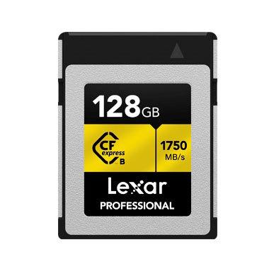 Lexar® Professional CFexpress™ Type B Card 128GB