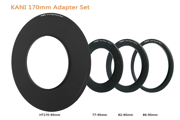 【レンタル】170mm filter holder adapter ring 95,86,82,77mm