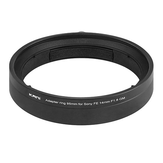 Adapter ring 95mm for Sony FE 14mm F1.8 GM